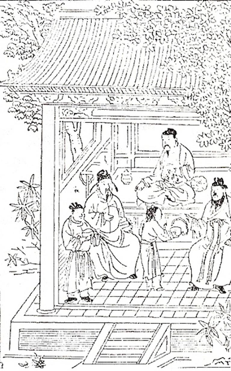Frontispiece to Yinshan Zhengyao | © Hu Sihue/WikiCommons