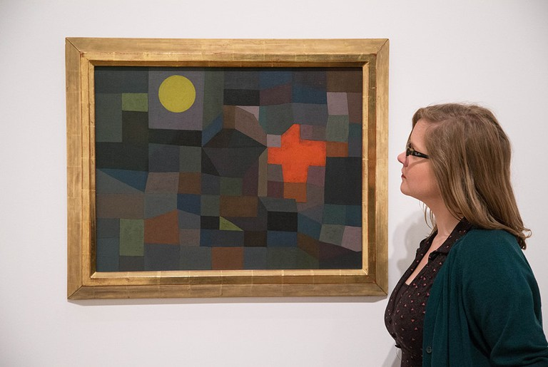 'Paul Klee: Making Visible' exhibition, Tate Modern, London, Britain ',  14 Oct 2013