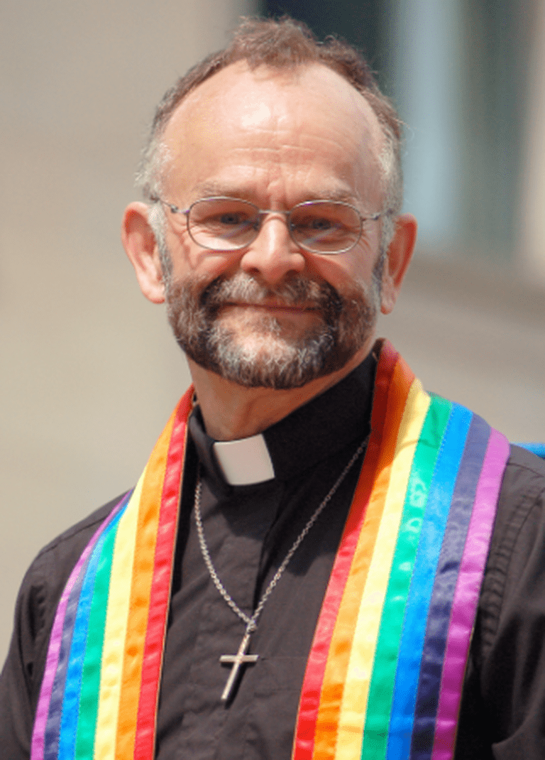 Rebel, activist, pioneer, spiritual leader, educator, and Order of Canada recipient, Rev. Dr. Brent Hawkes of the Metropolitan Community Church of Toronto