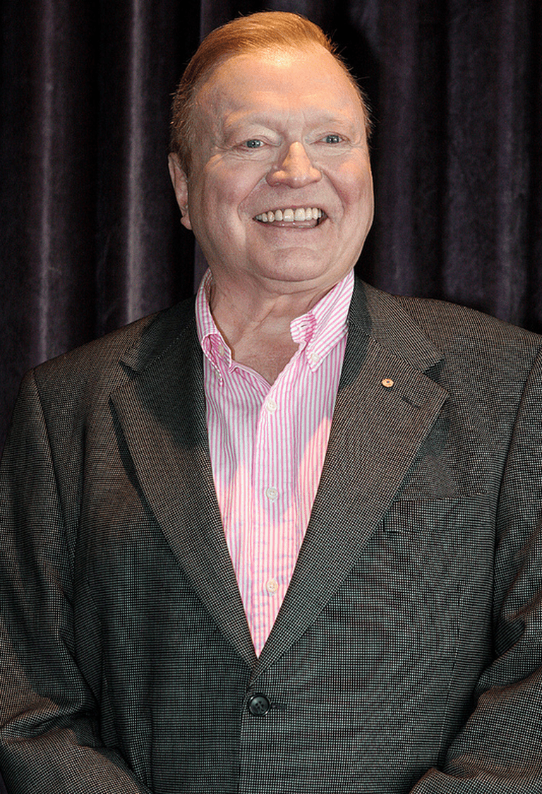 Bert Newton has hosted the Logies 19 times. © Eva Rinaldi on Flickr
