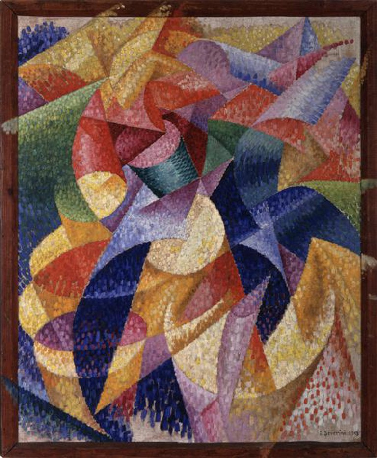 """Sea = Dancer"" by Gino Severini 