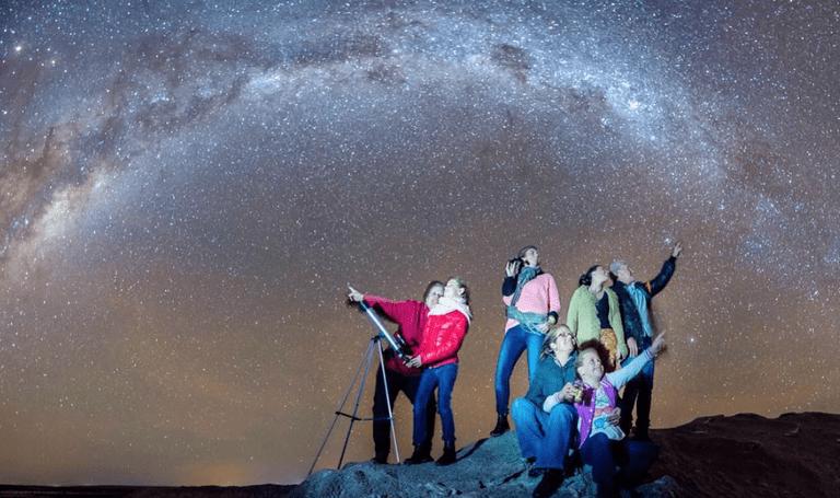 Sea Lake's night sky © Herald Sun