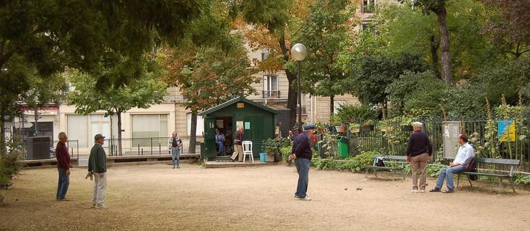 Square des Batignolles │© KoS / Wikimedia Commons