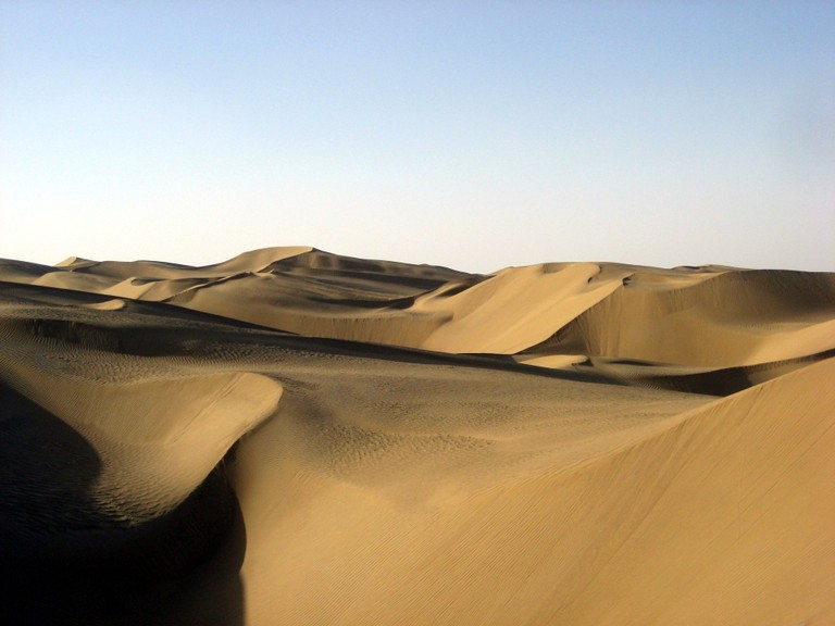 Taklamakan Desert | © Pravit/WikiCommons