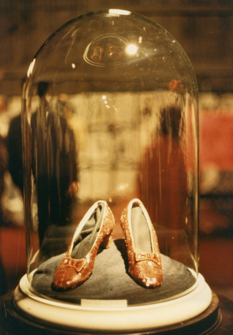 Ruby Slippers at MGM auction