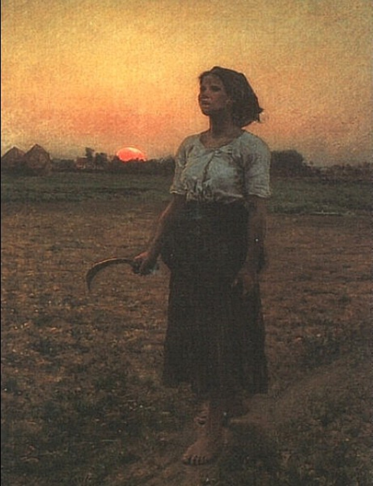 """Song of the Lark"" by Jules Breton 