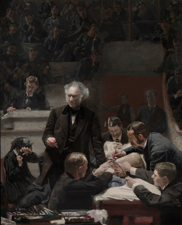 """The Gross Clinic"" by Thomas Eakins 