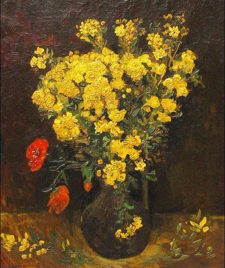Vincent Van Gogh, Poppy Flowers, c1886