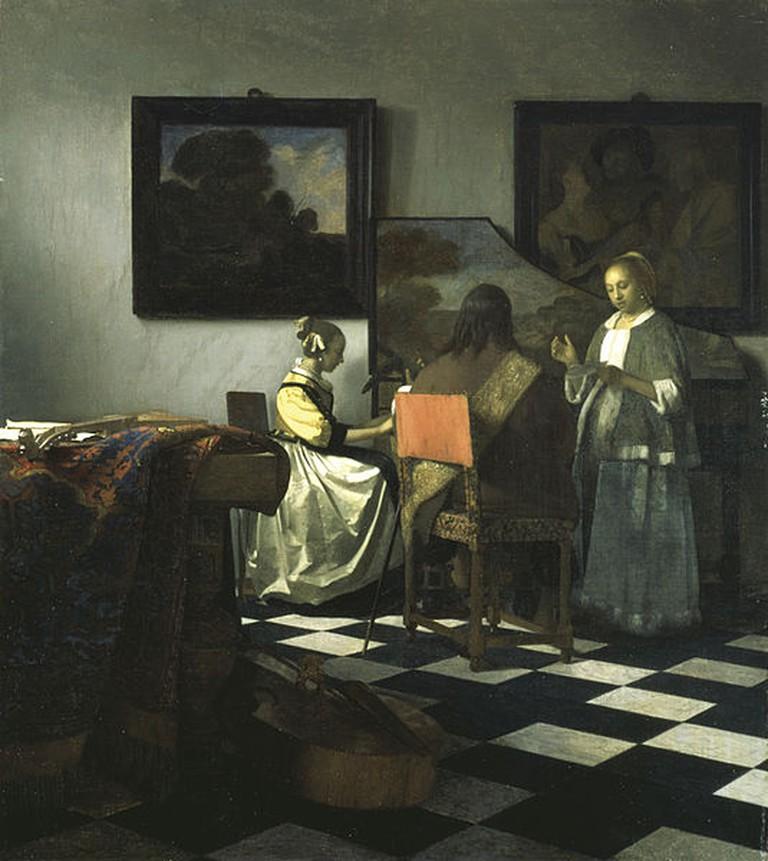 Joannes Vermeer, The Concert, c1664 | (c) Sailko/WikiCommons