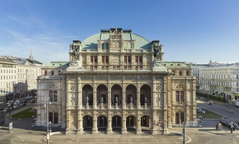 Vienna Staatsoper, Vienna   Courtesy Wiener Staatsoper/Michael Poehn