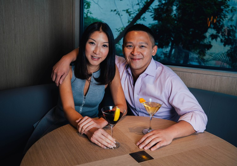 Co-founders of Bao Bei: Wendy Wong (on the left) and Gerald Lau