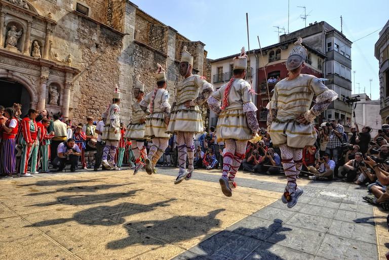 Els Tornejants | Courtesy of El Museu Valencià de la Festa d'Algemesí