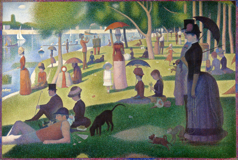 One of Suerrat's most famous works: A Sunday on La Grand Jatte |© Wikicommons