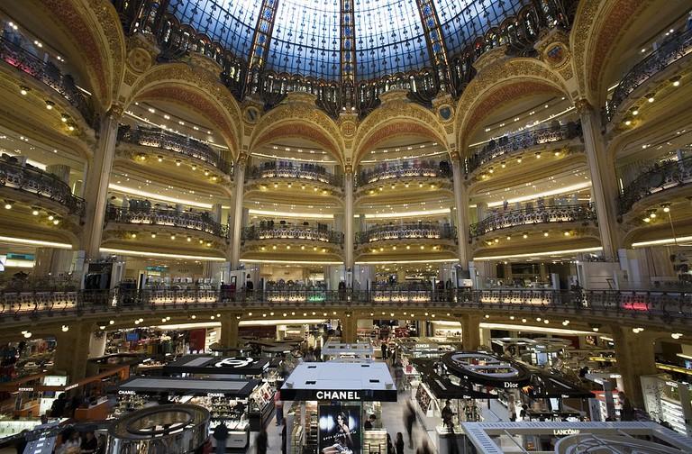 Galeries Lafayette Haussmann © Jorge Royan/Wikicommons