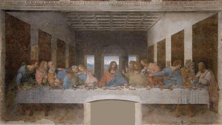 Da Vinci's Last Supper | © WikiCommons
