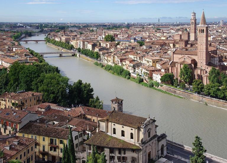 Verona | © Jakub Hałun/WikiCommons