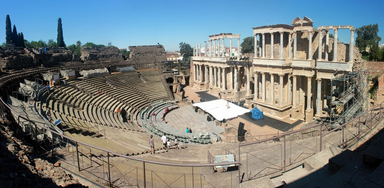 The Roman Theatre of Merida| © José Manuel García/Flickr