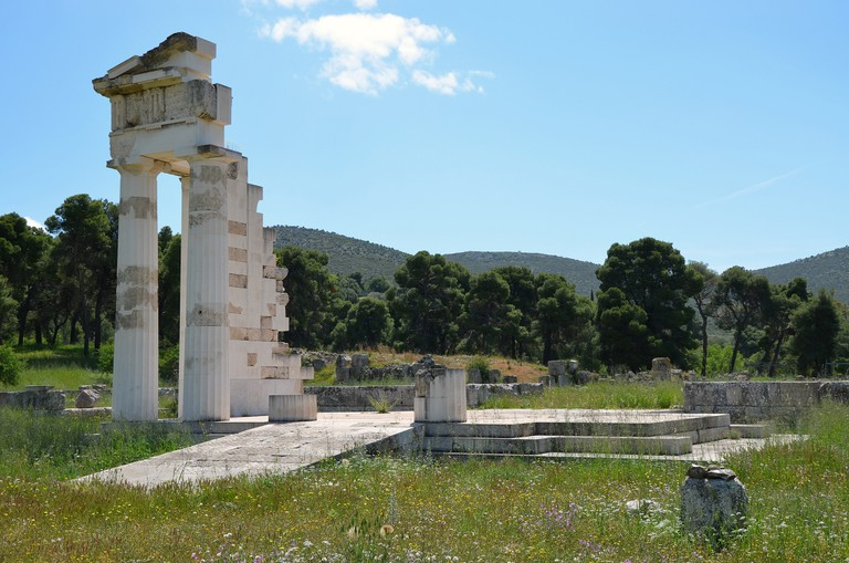 Temple of Asklepios | © Carole Raddato/Flickr