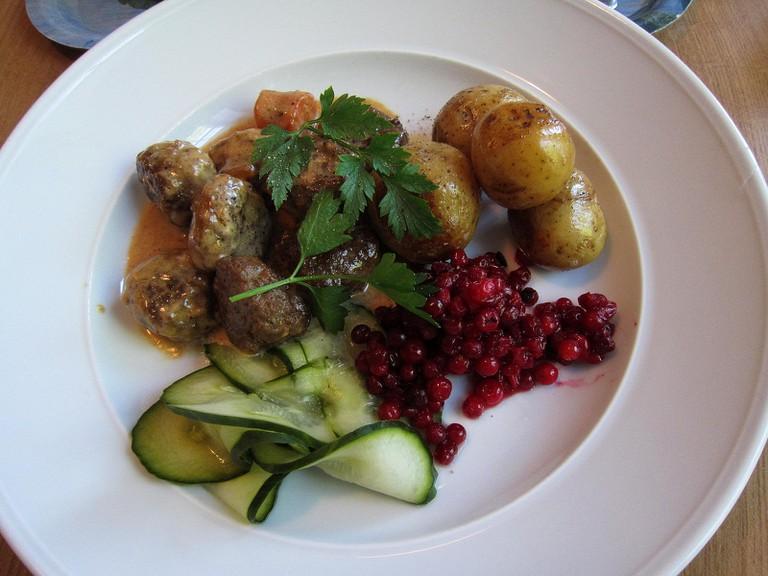 Swedish meatballs | Bosc d'Anjou/Flickr