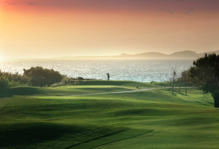 Costa Navarino boasts two picturesque golf courses © Costa Navarino