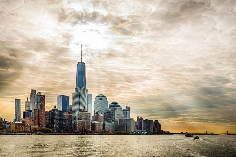 Lower Manhattan – Viewed From Hudson River