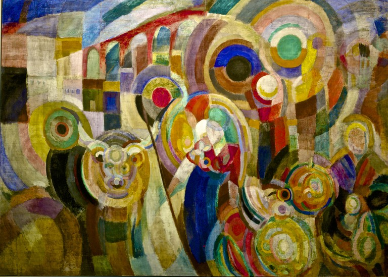 Sonia Delaunay, Marché au Minho (1916)