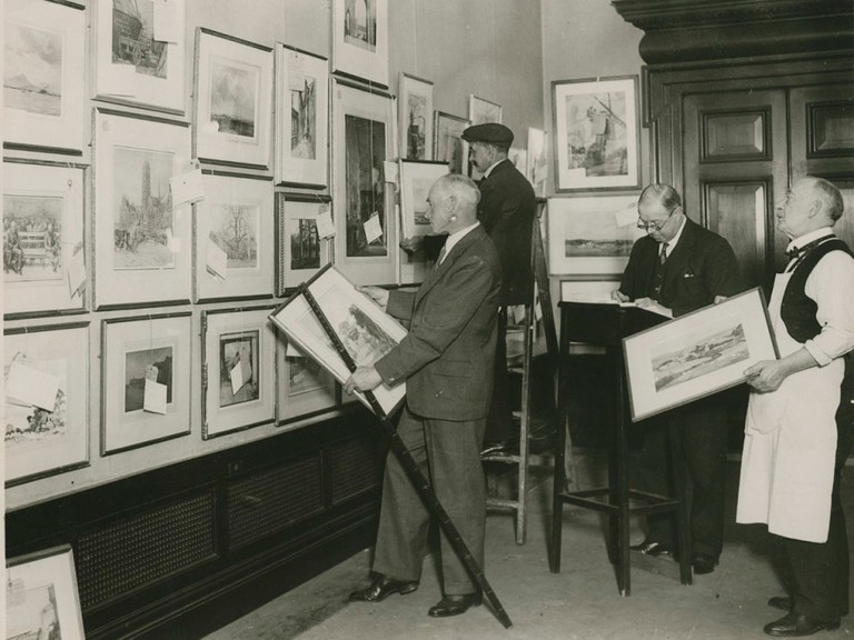 The 166th Summer Exhibition at the Royal Academy, 1934