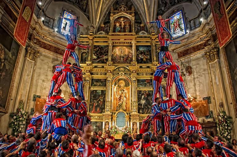 La muixeranga d'Algemesí Courtesy of El Museu Valencià de la Festa d'Algemesí