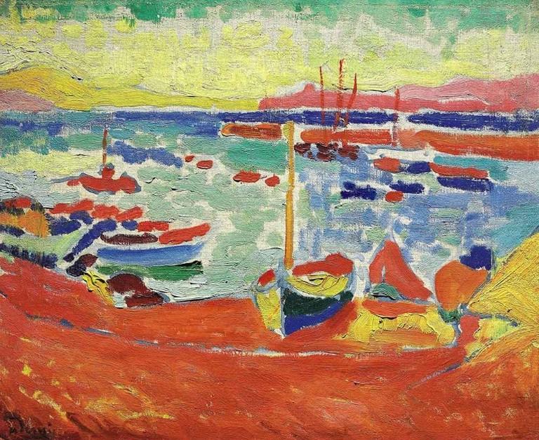 Bateaux à Collioure (1905)