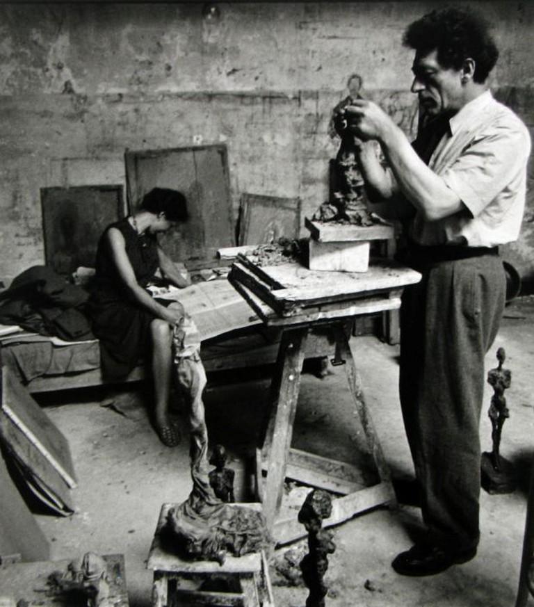Alberto & Annette Giacometti