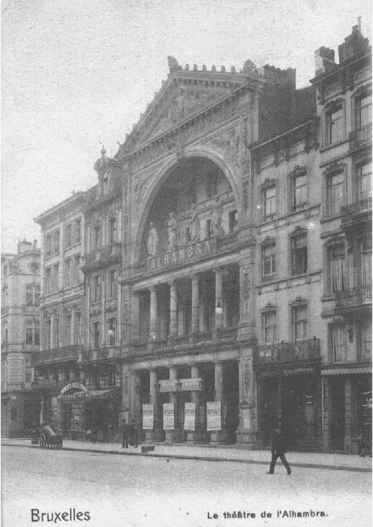 Alhambra Theatre in 1904 | © Andreas Stynen/Wikicommons