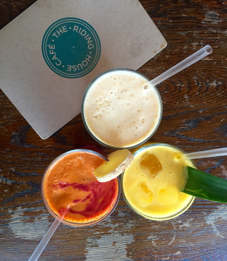 Smoothies | Courtesy of Riding House Cafe