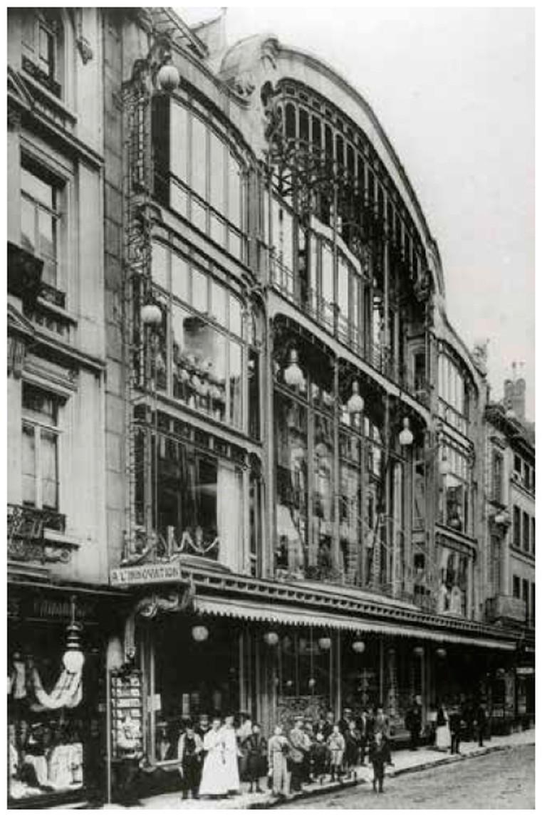 À l'Innovation de Bruxelles in 1901|© CBD/Wikicommons