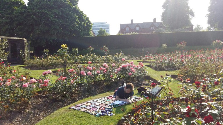 Rose Garden | Courtesy of Lewis Sloan