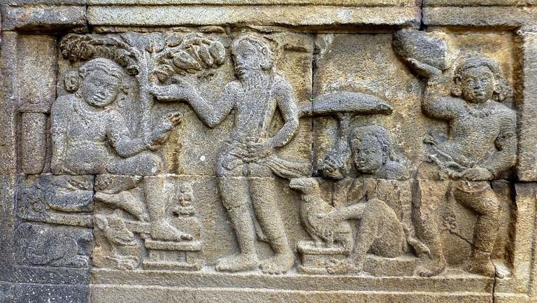 Jataka Tale On Stupas | © Photo Dharma/WikiCommons