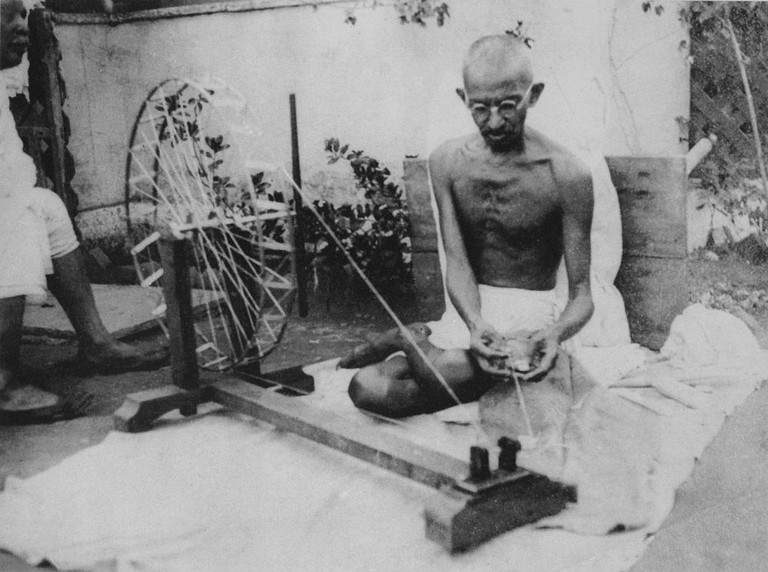 Gandhiji On Charkha