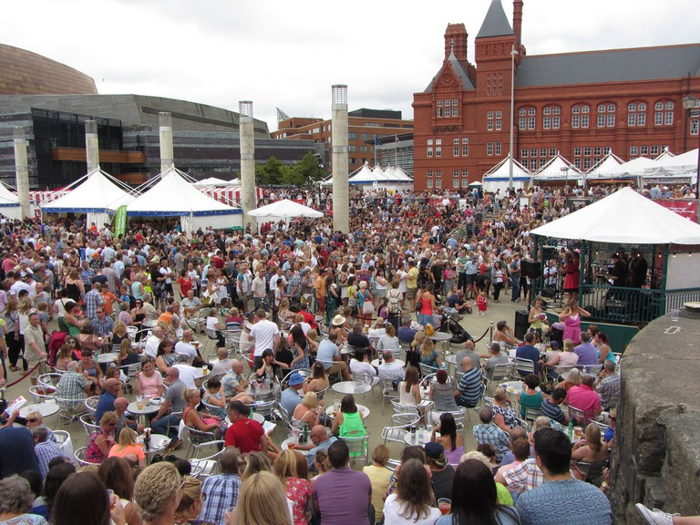 Cardiff Food Festival in 2014 | © Gareth James