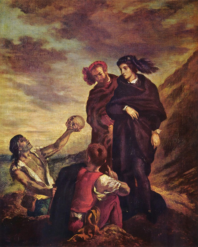 Scene from Hamlet by Eugène Delacroix (1839) / WikiCommons