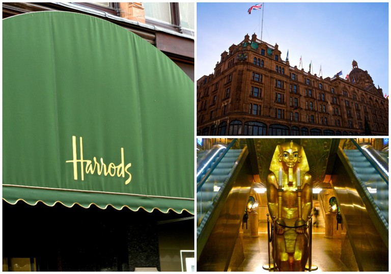 Harrods | © Bill Smith / Flickr // © Scott / Flickr // © Herry Lawford / Flickr