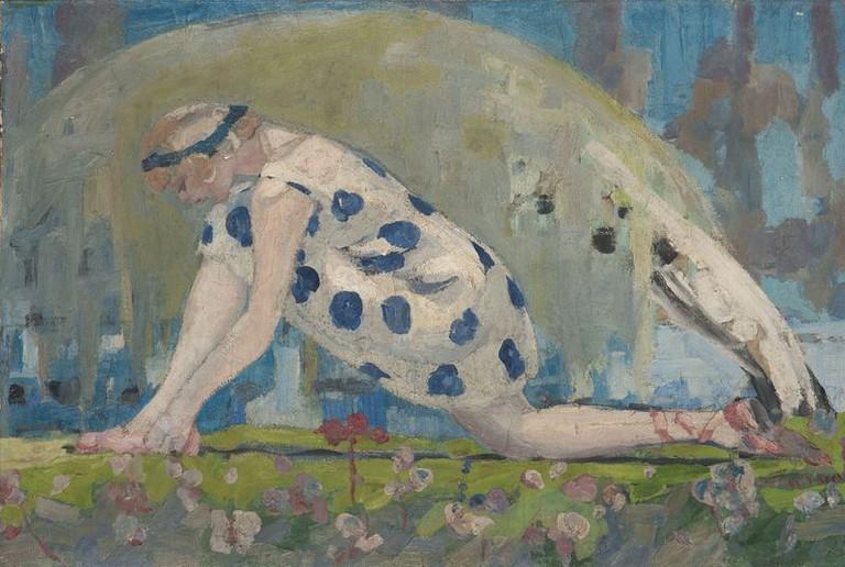 Jacqueline Marvel, Danseuse (1909)