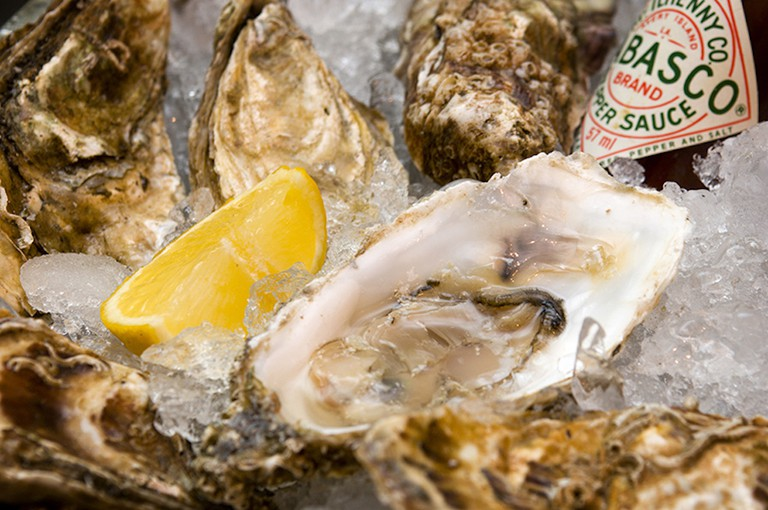 Welsh Oysters, courtesy of Visit Wales