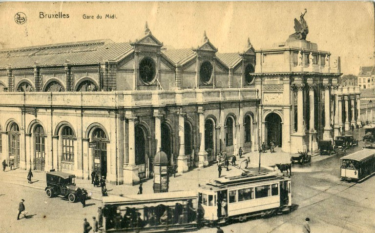 Brussels South Station|© Claude_villetaneuse/Wikicommons