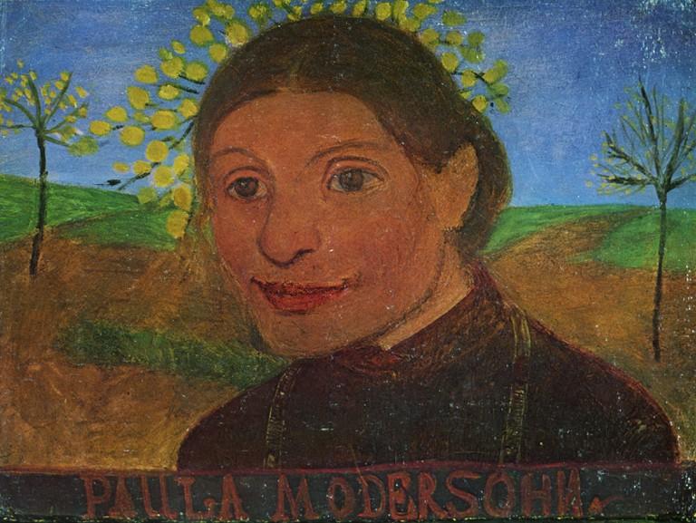 Paul Modersohn-Becker, Self-portrait (circa 1902)