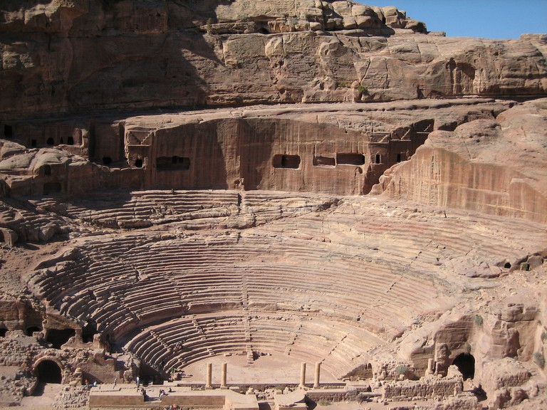 Theatre, Petra  ©Douglas Perkins/WikiCommons
