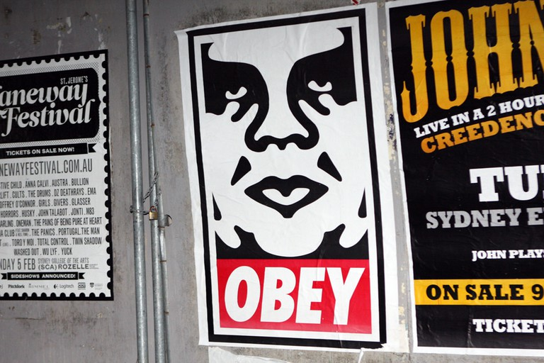 Obey Giant © Eva Rinaldi/Flickr