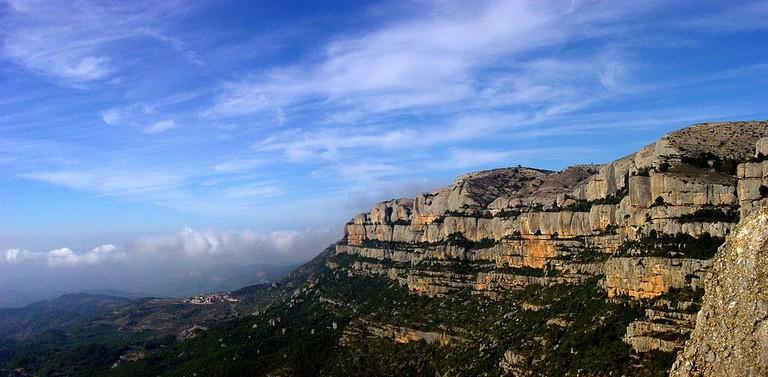 The <ontsant mountain