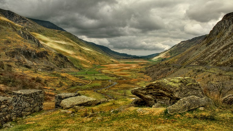Nant Ffrancon Valley, Snowdonia, courtesy of Stuart Madden, flickr
