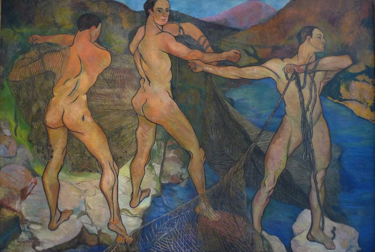 Suzanne Valadon, Casting of the Net (1914)