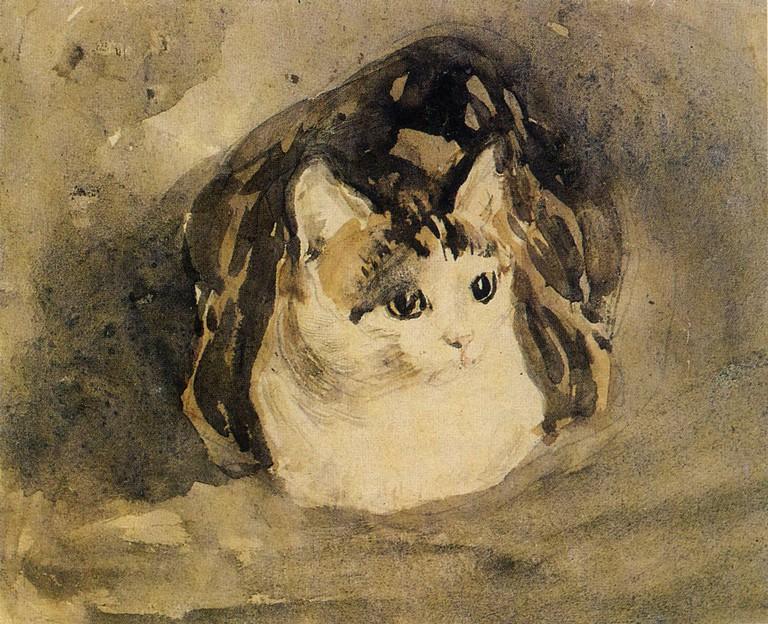 Gwen John, The Cat (1904)