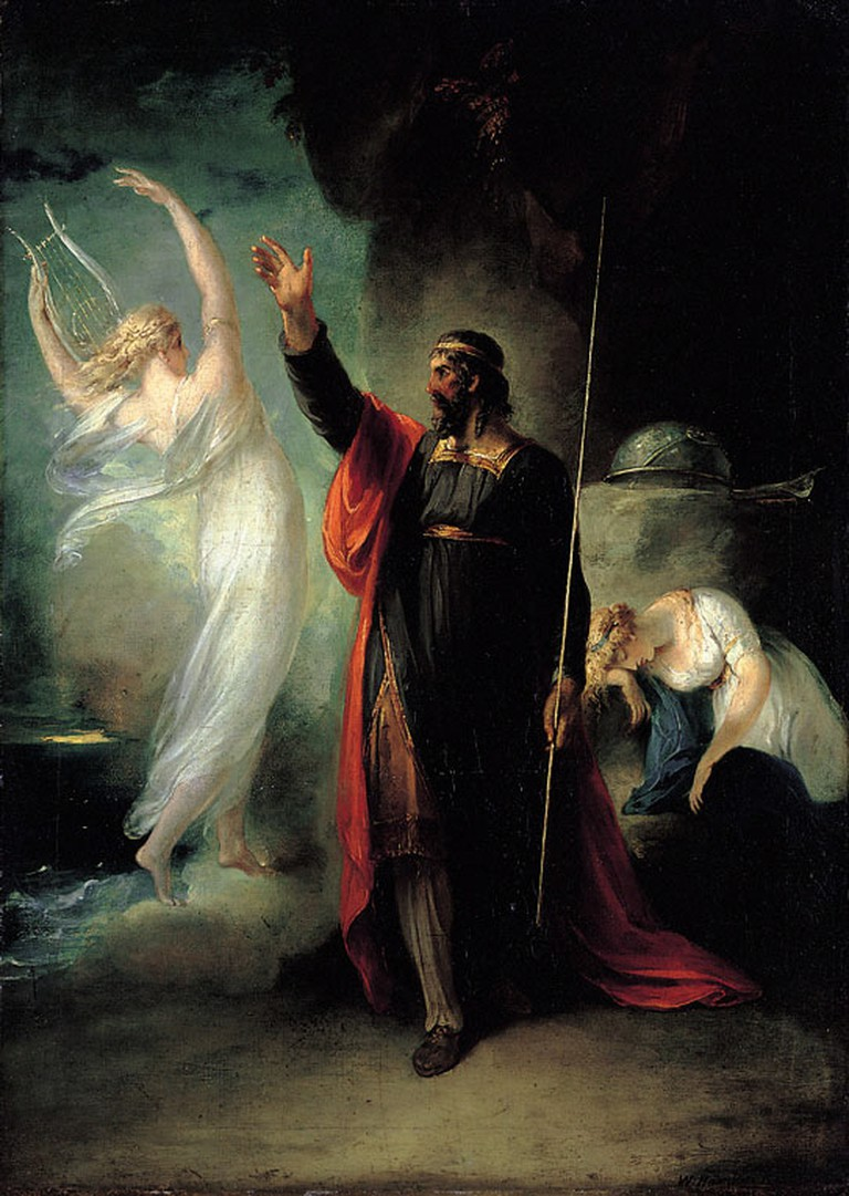 Prospero and Ariel / WikiCommons